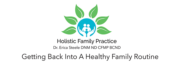 Getting back into a healthy family routine